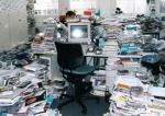 Disorganized office