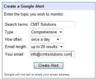 Google Alerts image